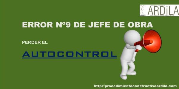 Perder el autocontrol es no estar enfocado en la solución del problema