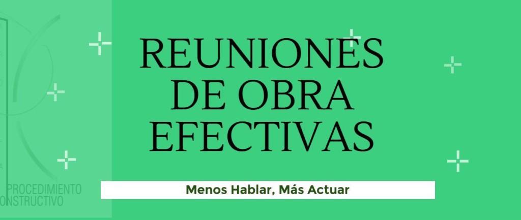 PORTADA DE REUNIONES DE OBRA EFICACES