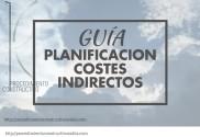 portada de la guía de planificación costes indirectos