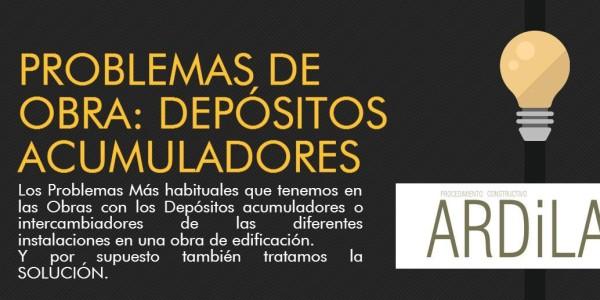 portada del artículo problemas de obra con los depositos acumuladores