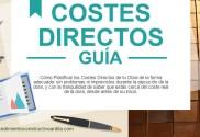 Portada del artículo GUIA PLANIFICACION COSTES DIRECTOS