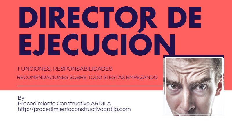 PORTADA TRABAJO ARQUITECTO TECNICO DIRECTOR DE EJECUCION RECOMENDACIONES