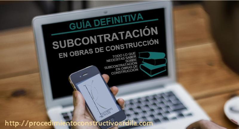GUIA DE SUBCONTRATACIÓN PORTADA