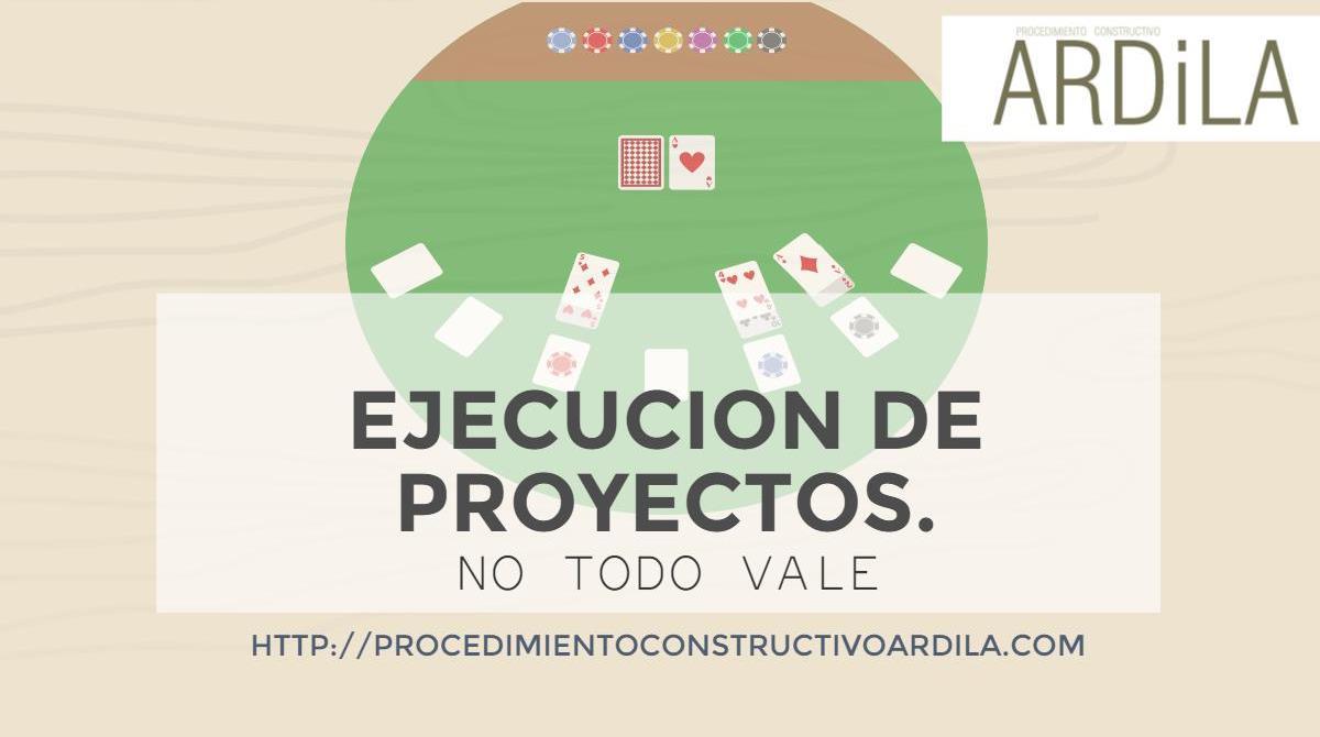 PORTADA DE LA IMPORTANCIA DE CUIDAR LOS ASES EN LA EJECUICON D EPROYECTOS
