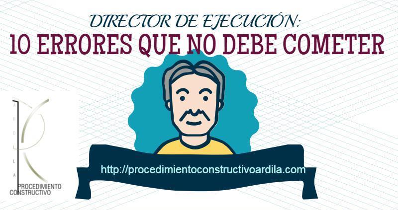 DIRECTOR DE EJECUCION