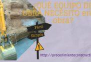portada clasificación equipos de obra, maquinaria y medios auxiliares