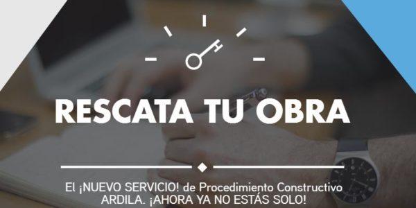 PORTADA RESCATA TU OBRA NUEVO SERVICIO