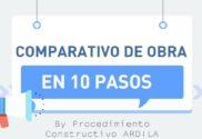 CÓMO HACER COMPARATIVOS DE OBRA PORTADA