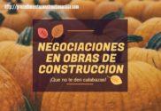 portada cómo negociar en las obras de construccion