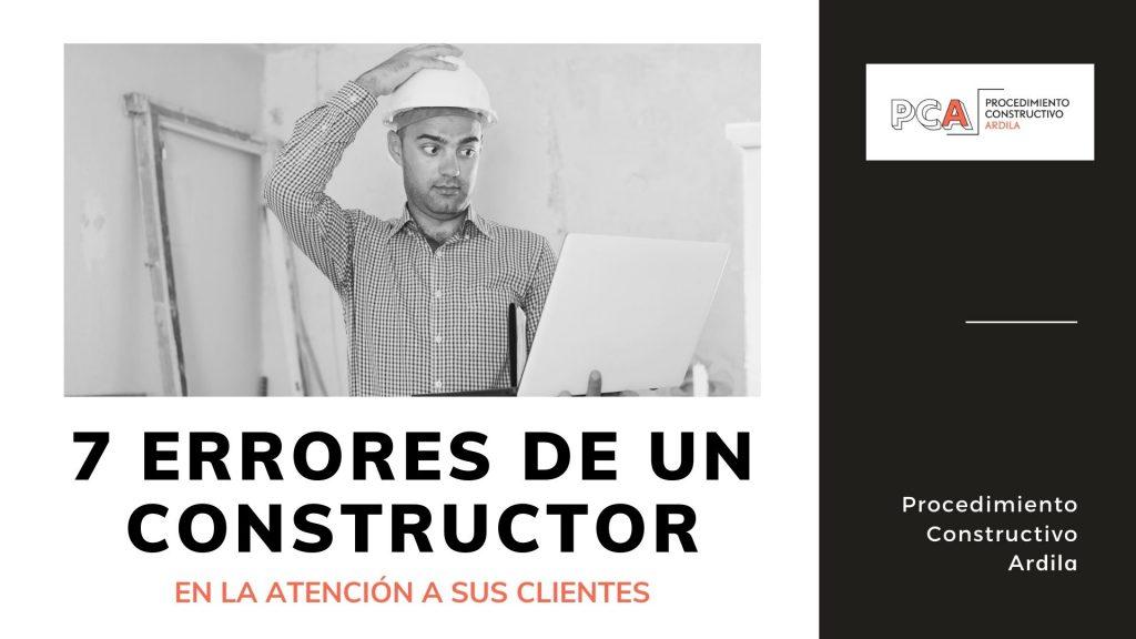 ATENCIÓN AL CLIENTE EN CONSTRUCCIÓN