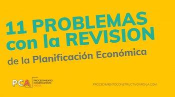 revisión cuatrimestral de la planificación económica de una obra