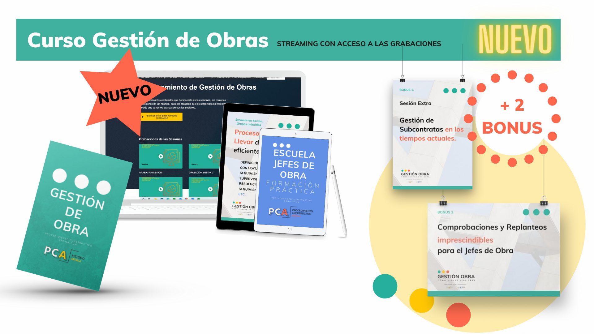 EL MEJOR CURSO PARA JEFES DE OBRA